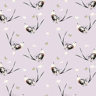 Birch Fabrics - Western Birds - Organic
