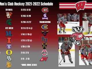 2021-22 Season Schedule Announced