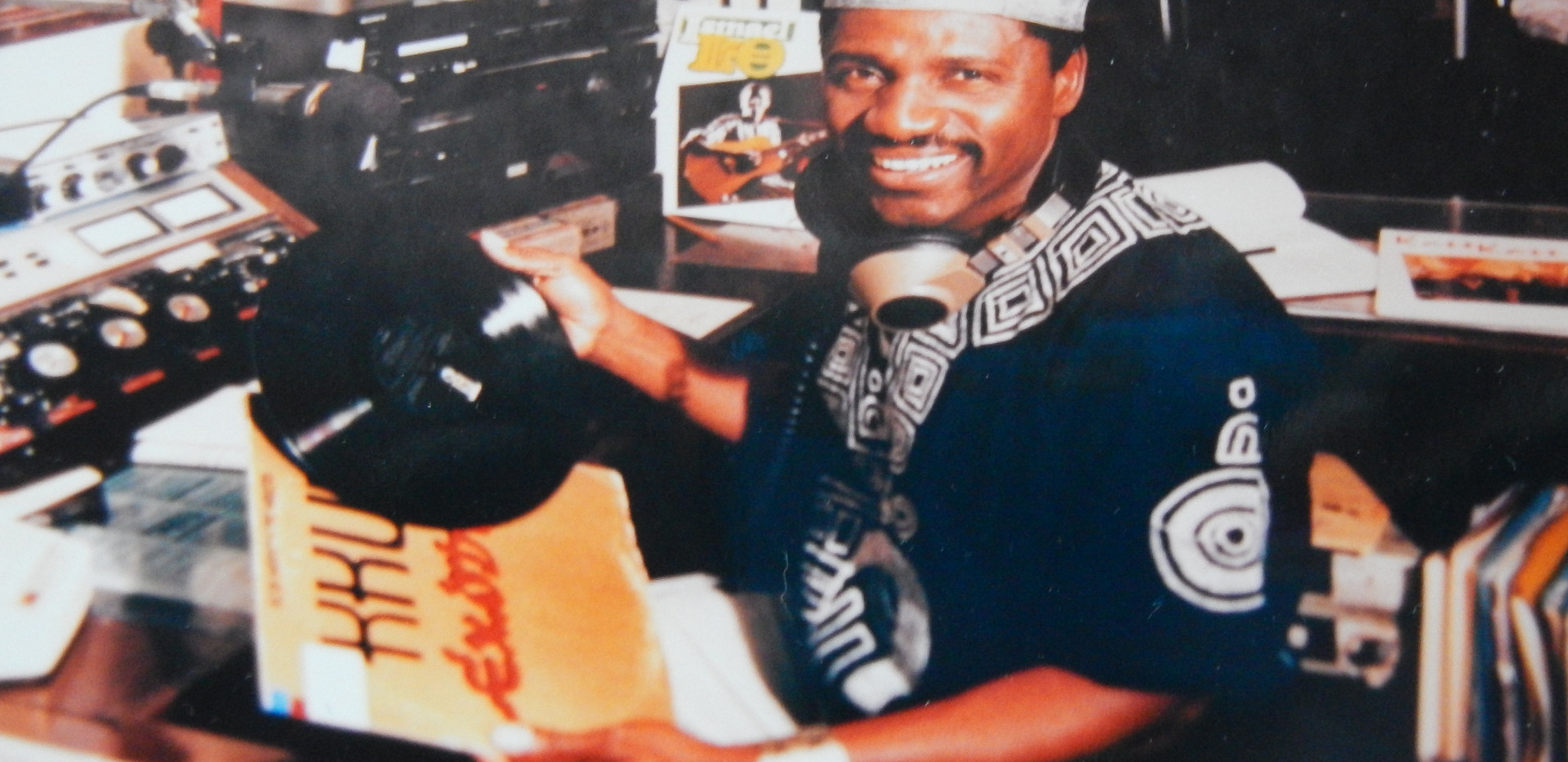 Hosting Echoes of Africa on KKUP radio Cupertino California late 80s