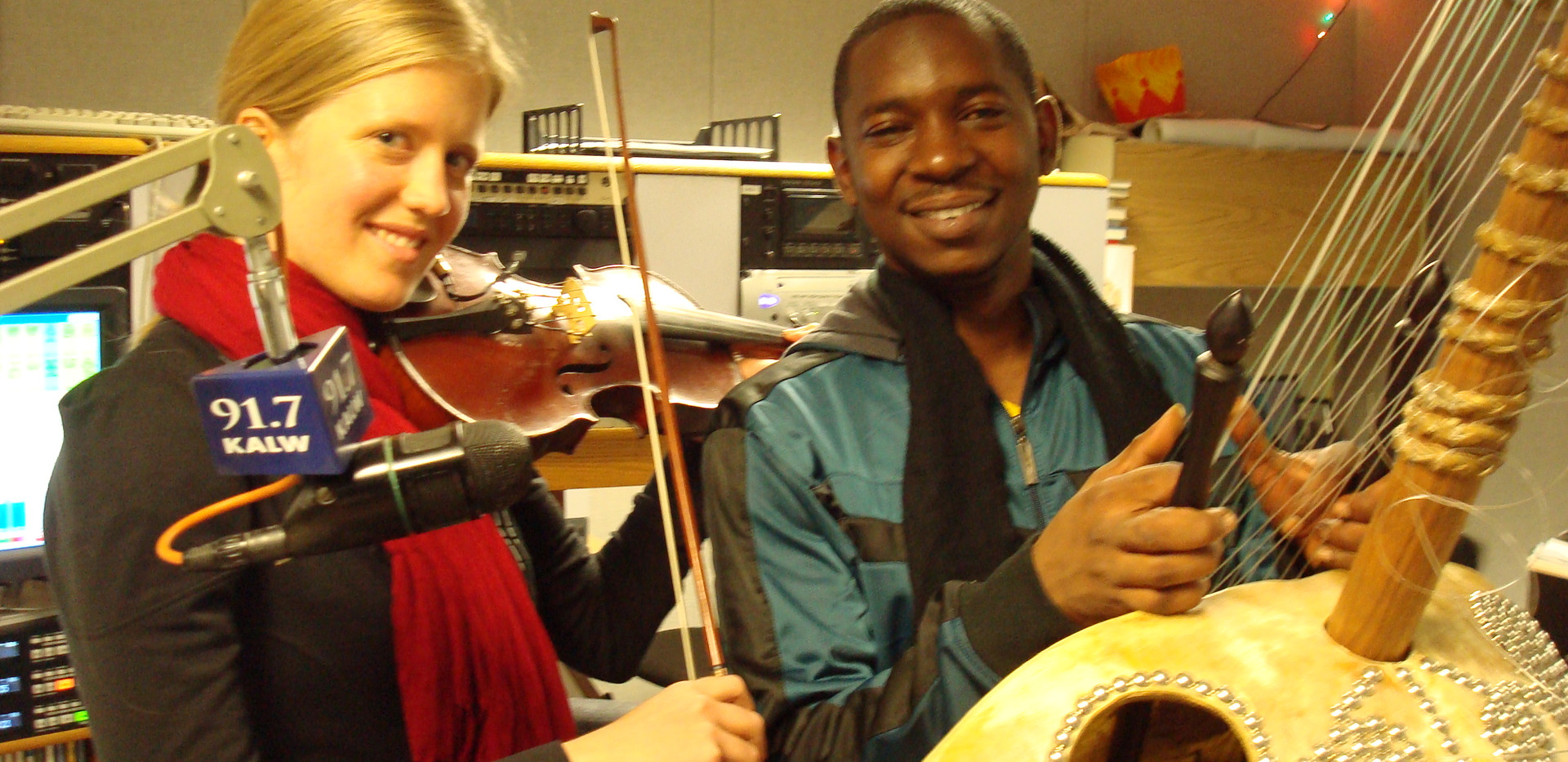 African Kora meets Irish violin