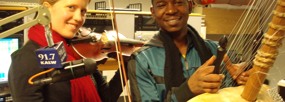 African Kora meets Irish violin