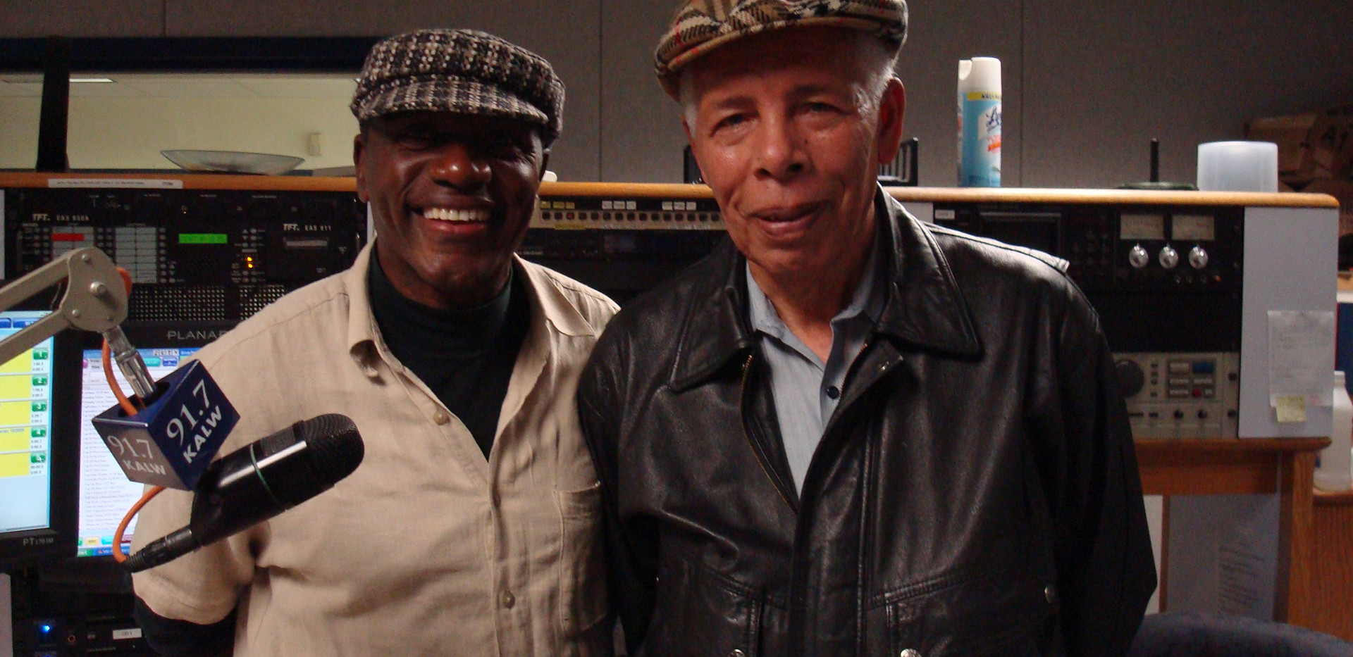 """Nado and Cape Verdian illustrous composer of the song """"Sodade"""" Amandio Cabral guest of Africamix"""