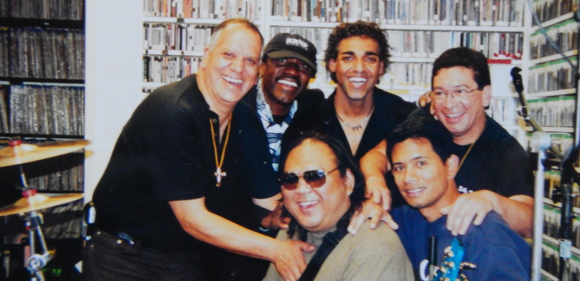 At KKUP radio Santa Clara,Ca.
