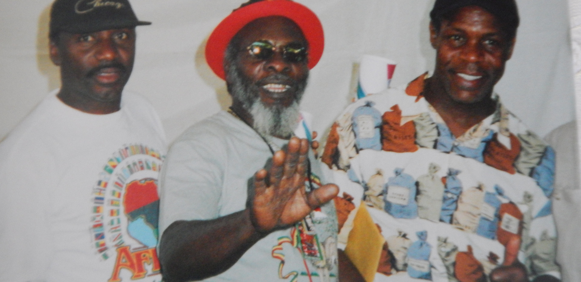 Reggae on the river with Ras and actor Danny Glover