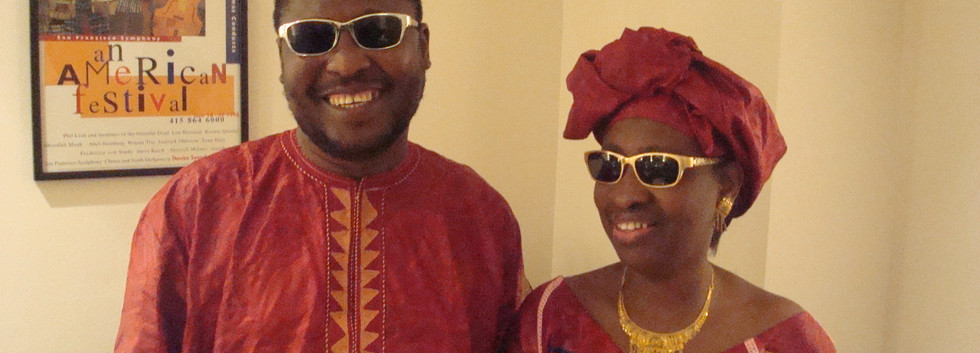 Famous husband and wife duo Amadou & Mariam from Mali