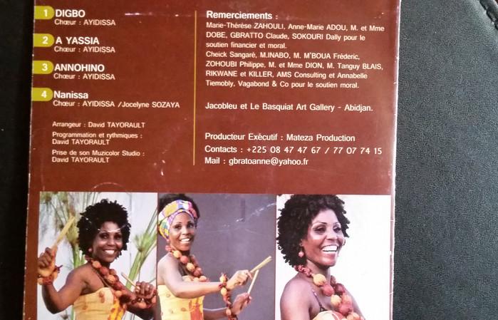Cote d'Ivoire Tradi-contemporary singer Ayidissa