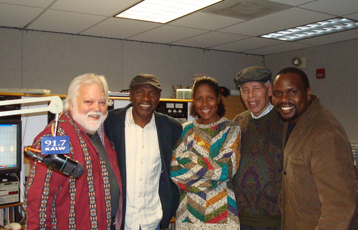 Nado, Gabriel Mendes, amandio Cabral,Edwin Okongo and Pianist guests of Africamix