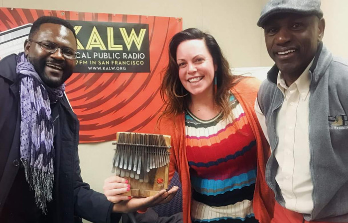 KTO and master Zimbabwe mbira player are guests on  Africamix.