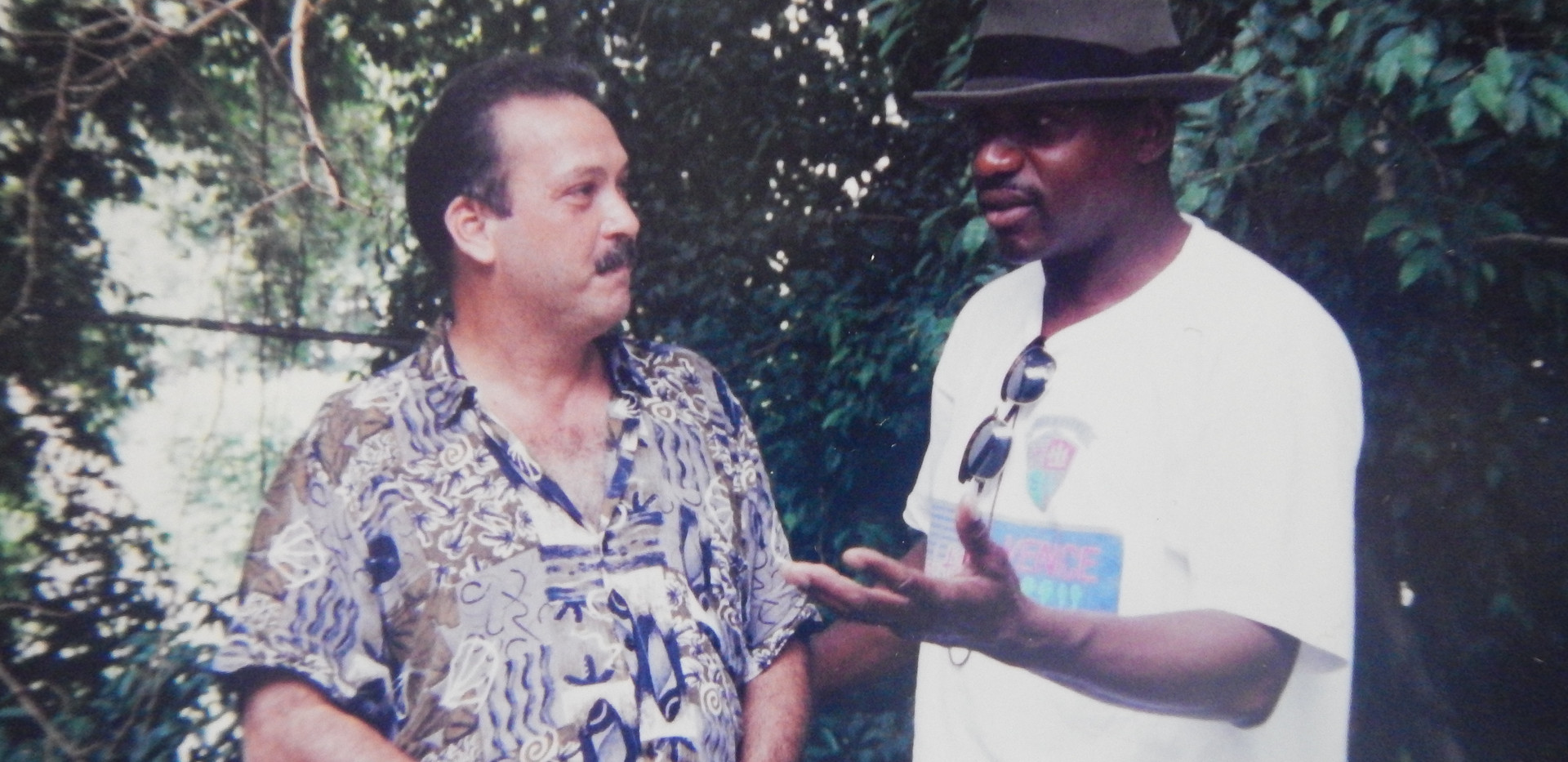In Cuba interviewing Dr Olavo Director of Cuban historical society 1996