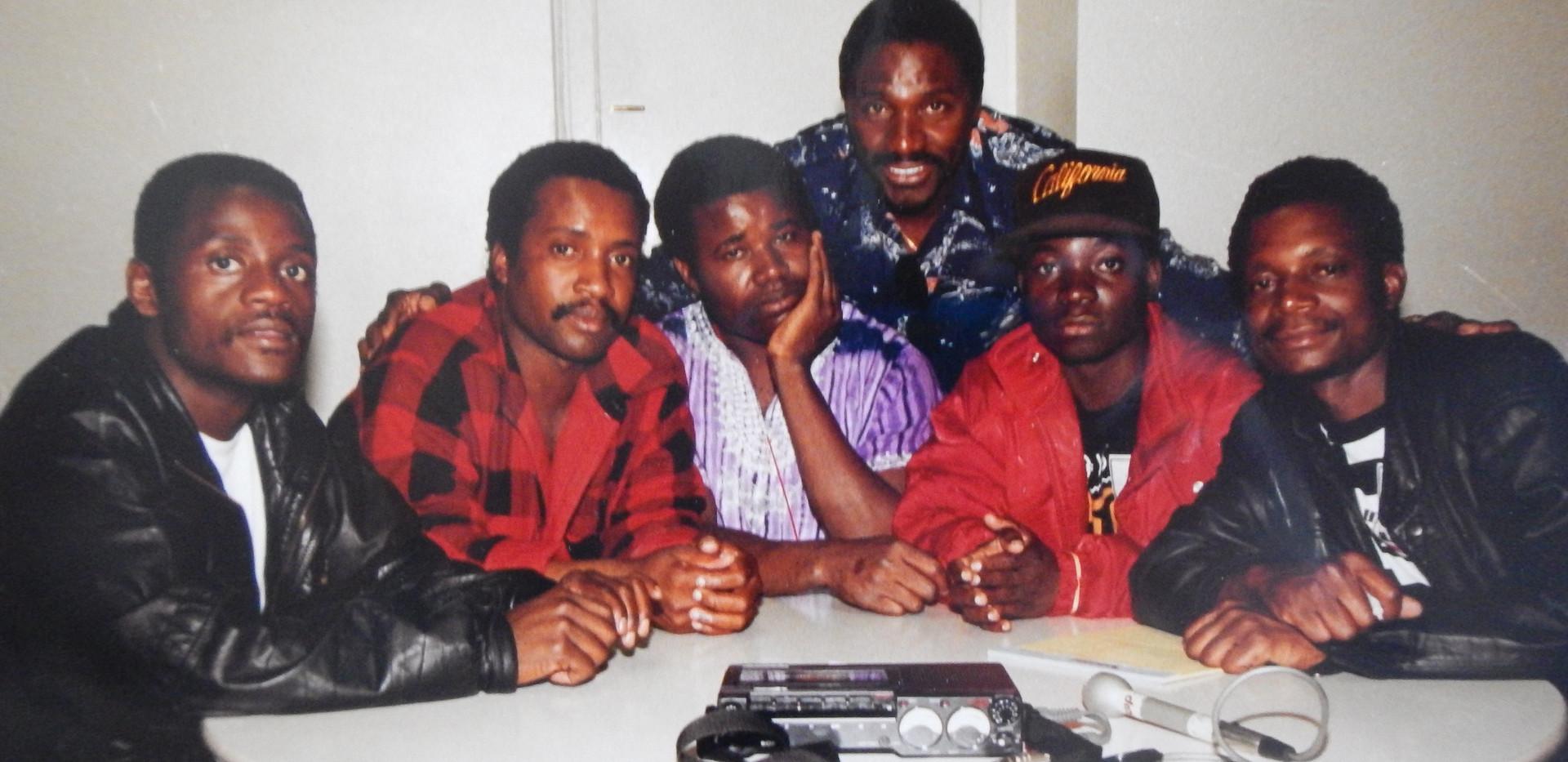 Zimbabwe's 80s super pop group the Bhundu Boys