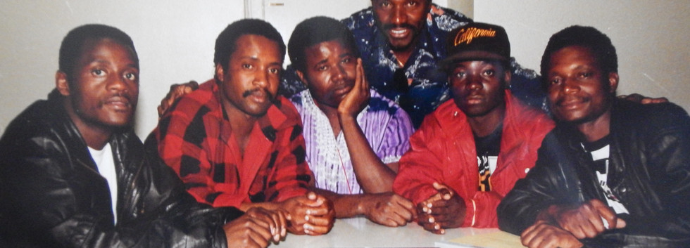Zimbabwe's 80s super pop group the Bhundu Boys