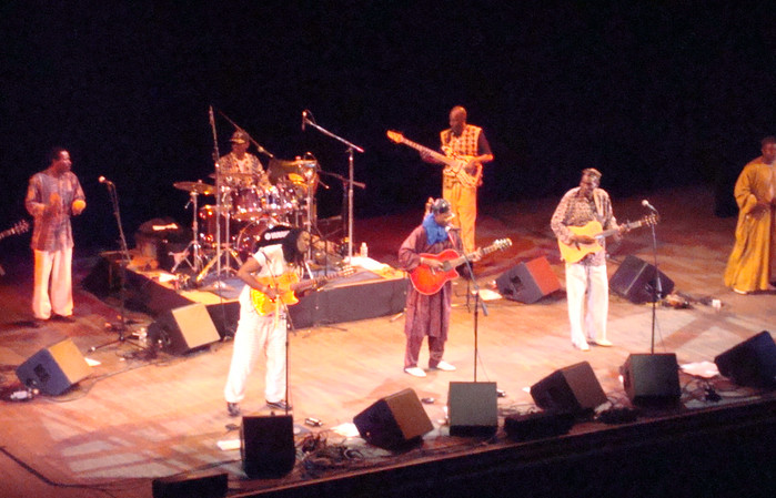 The African Acoustic tour in Oakland, California with Habib Koite, Oliver Mtukudzi and Afel Bocum