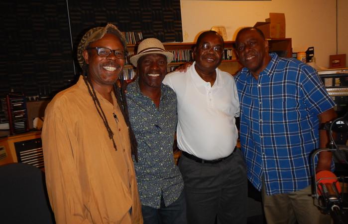 Invited on KPFA radio show Africa Today.Greg Bridge,Nado,Jo Kappia,Walter Turner of KPFA