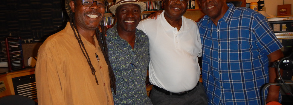Invited on KPFA radio show Africa Today.Greg Bridge,Nado,Jo Kappia,Walter Turner of KPFA