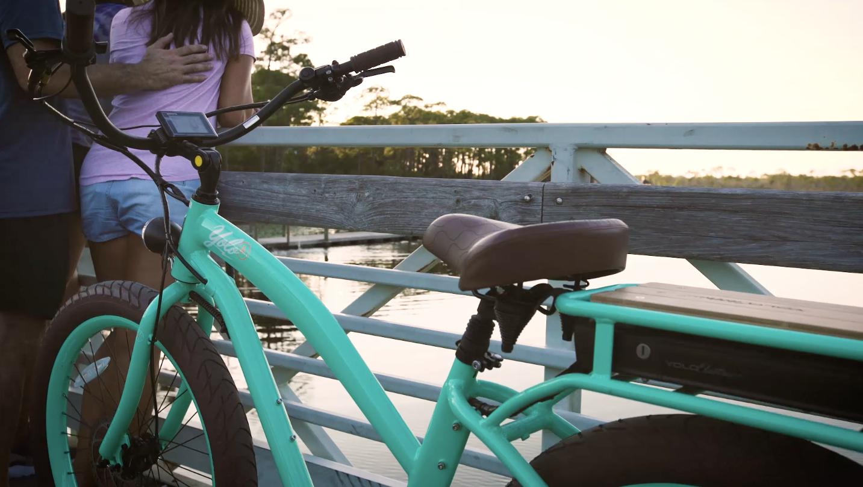 Seafoam 30A Electic Bike
