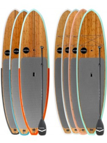 VESL Bamboo Eco Series - Two Board & Paddle Package