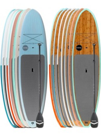 VESL Premium & Bamboo Eco - Two Board & Paddle Package