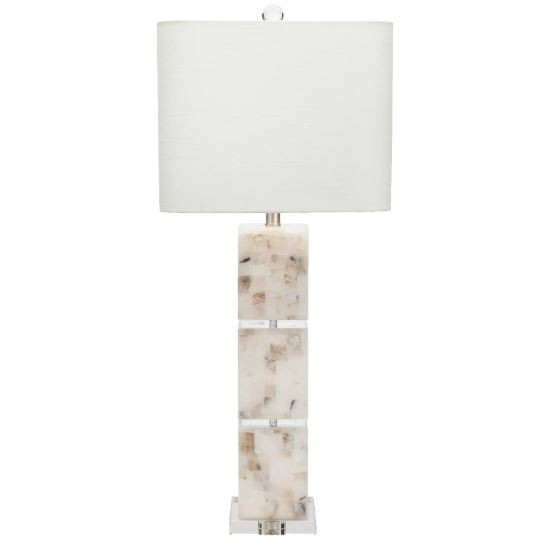 Darcy Calcite & Crystal Table Lamp