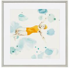 Poolside Yellow Swimmer