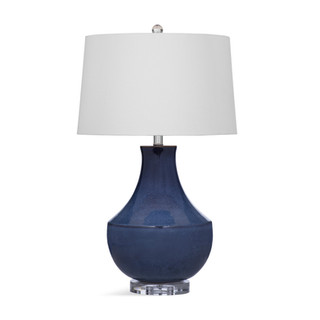 Kinney Navy Blue Ceramic Lamp