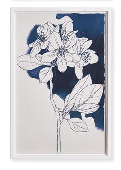 Watercolor Floral Sketch III