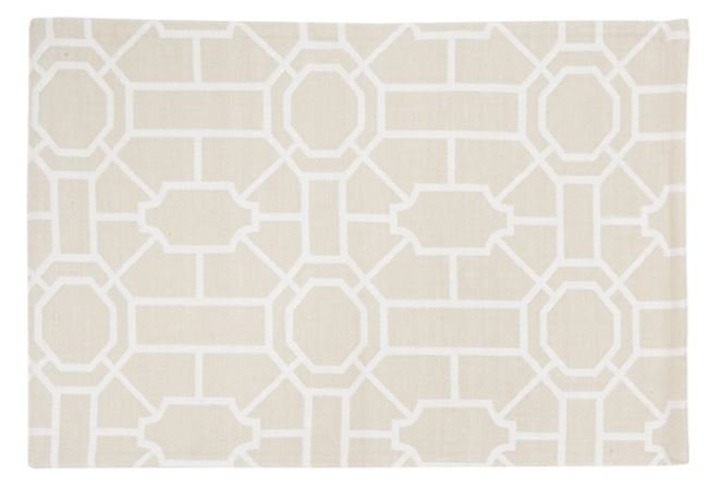 Trellis Sandstone Placemat (Set of 2)