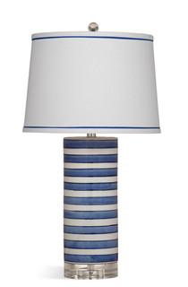 Regatta Blue & White Stripe Ceramic Table Lamp