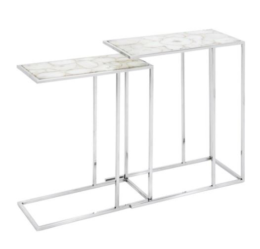 Natural Agate Stone Nesting Tables