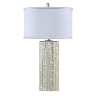 Montego Ceramic Bamboo Table Lamp
