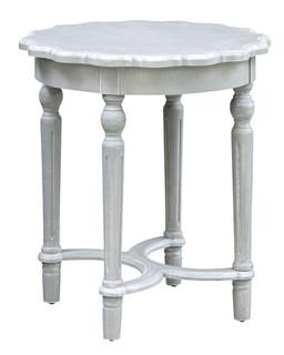 Pembroke Scallop Edge Side Table