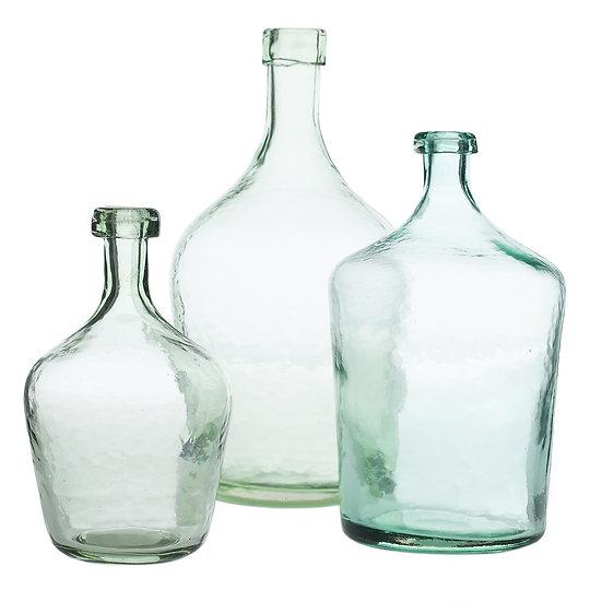 Laguna vase aqua glass
