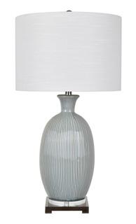 Carrefour Ceramic Aqua Table Lamp
