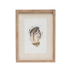 Framed Oyster Print 4