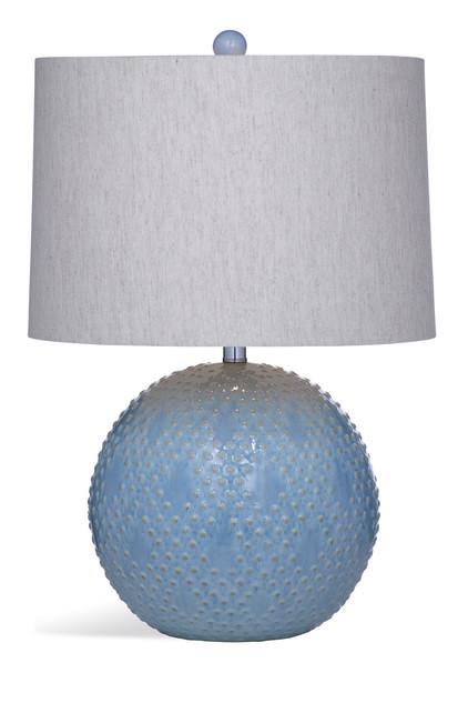 Kettler Blue Ceramic Table Lamp