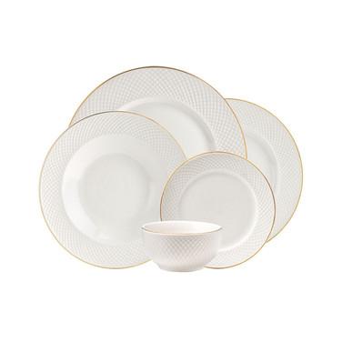 Lattucina 20pc Fine Dinnerware Set