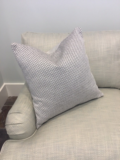 Silver Metallic Pillow Extraordinary 22 Square Pillow Covers