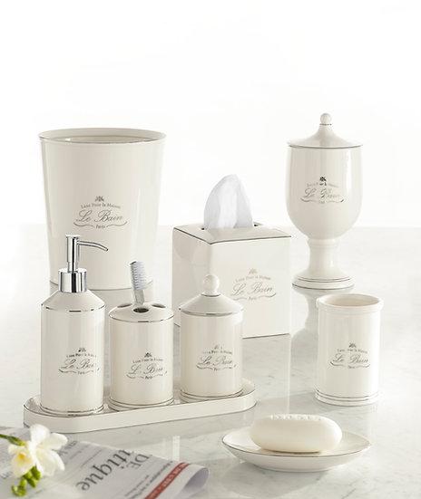 Aubergine Home Collection bathroom decor store Le Bain bathroom accessories by Kassatex