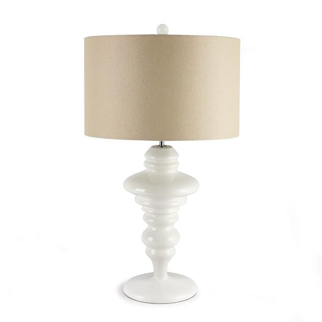 Carson White Table Lamp