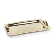 Gold Stainless Steel Serving Tray