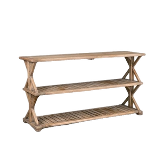 Promenade Weathered Console Table