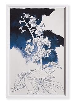 Watercolor Floral Sketch I