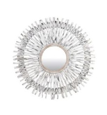 Malta Wood Starburst Mirror