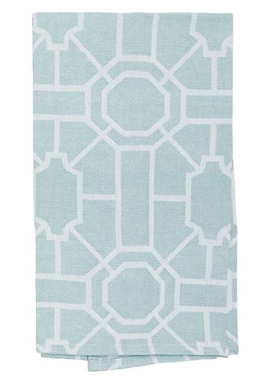 Trellis Sea Glass Towel