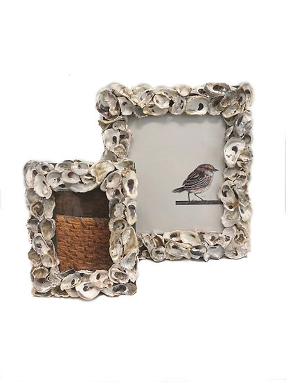 Oyster Shell Picture Frames