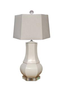 Sea Salt Hexagon Table Lamp