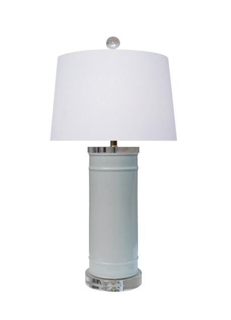 Clouds Blue Ceramic Table Lamp