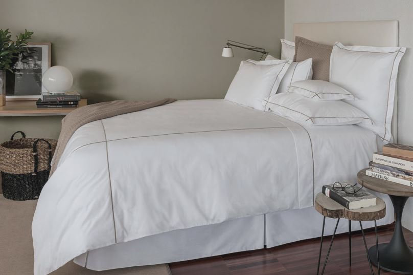 Classic hotel cotton percale sheet set