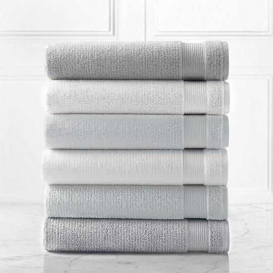 Pergamon plush cotton bath towel set