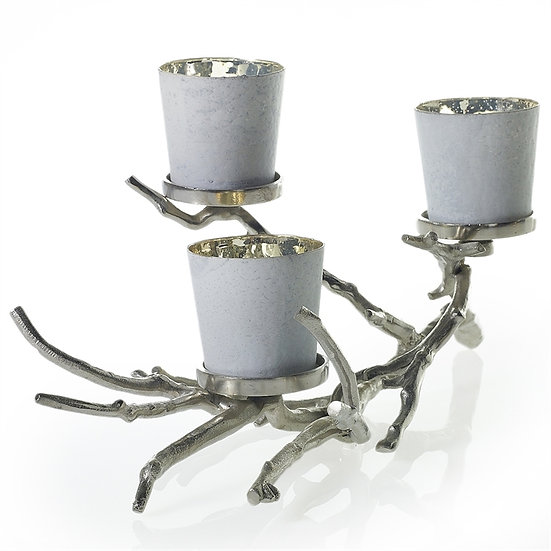 aluminum branch candleholder