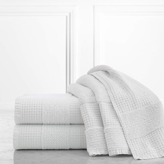 Maison Waffle Weave Textured Towels